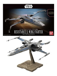 1/72 Resistance X-wing Fighter Bandai Model Kit