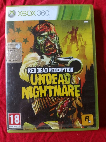Red Dead Redemption Undead Nightmare Rf Xbox 360 Frete R$10