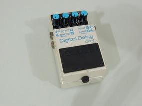 Pedal Boss Dd-6 Digital Delay (super Conservado) + Brinde!