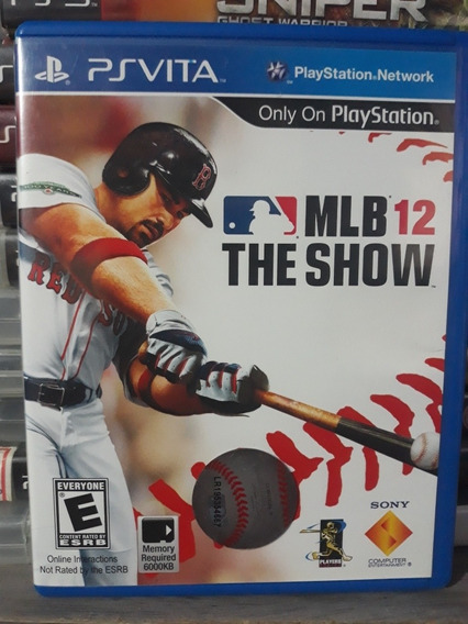 Mlb 12 The Show Jogo Para Playstation Vita ( Ps Vita )