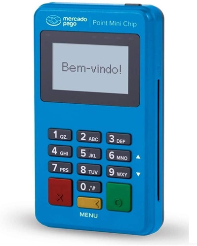 Imagem 1 de 3 de 4 Máquinas De Cartão Point Mini Chip Mercado Pago Atacado