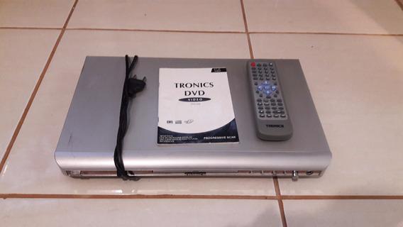 Aparelho Dvd Player Tronics - Karaoke - Funcionando - Leitor