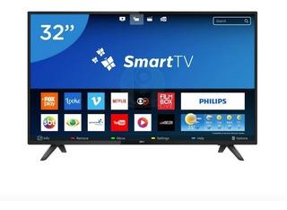 Smart Tv Philips 32 Pulgadas Led Con Netflix Youtube Spotify