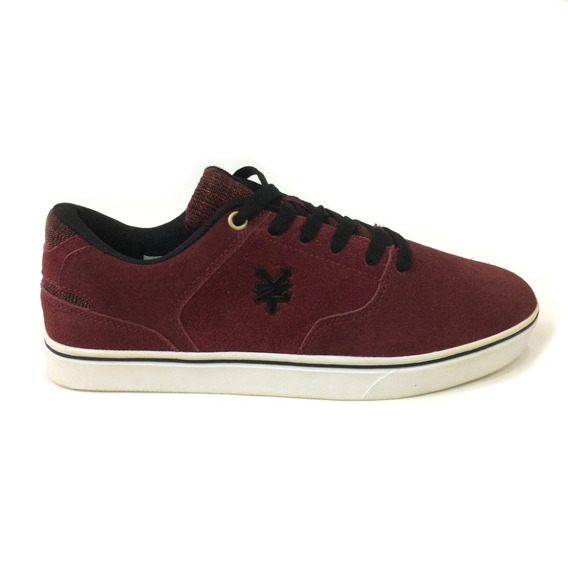 Zapatos Zoo York Originales - Hombres - Zy16293m - Wine Red