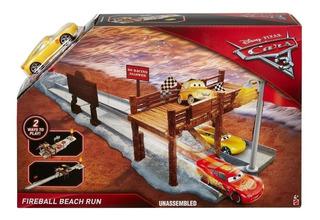 Disney Cars 3 Pista Cruz Ramirez Fireball Beach Orig. Mattel