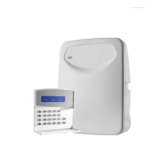 Central De Alarme Monitorável Tem Heron-850 + Teclado Tem