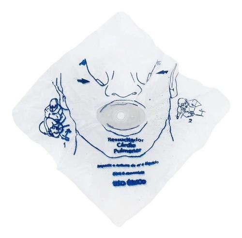 Máscaras Rcp Descartável (5 Unidades)