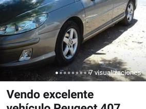 Peugeot 407 2.0 Full Top De Line