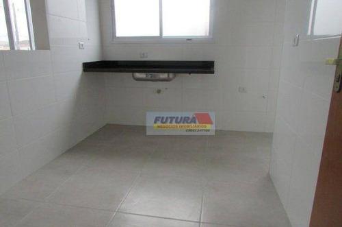 Imagem 1 de 20 de Apartamento Com 2 Dormitórios À Venda, 49 M² Por R$ 200.000,00 - Parque Bitaru - São Vicente/sp - Ap2474