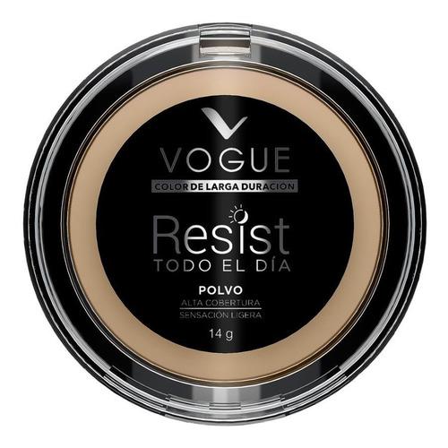 Imagen 1 de 3 de Polvo Compacto Vogue Resist X 14g