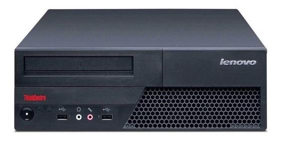 Desktop Cpu Lenovo 6234 3.0ghz 4gb 250gb Seminovo!