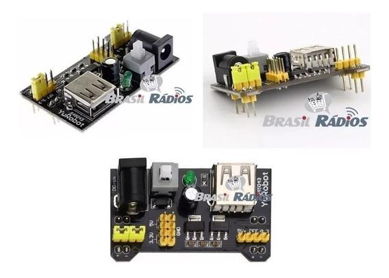 2 X Fonte Protoboard 3.3v/5v Arduino Pic Arm Avr Mcu