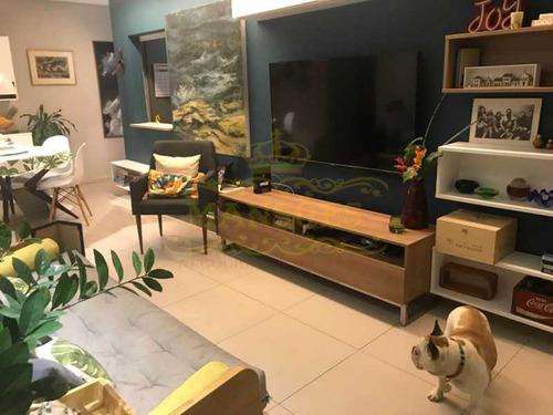 Apartamento, 2 Quartos,  1 Vaga, Rosas, Barra Da Tijuca. - Abap20083