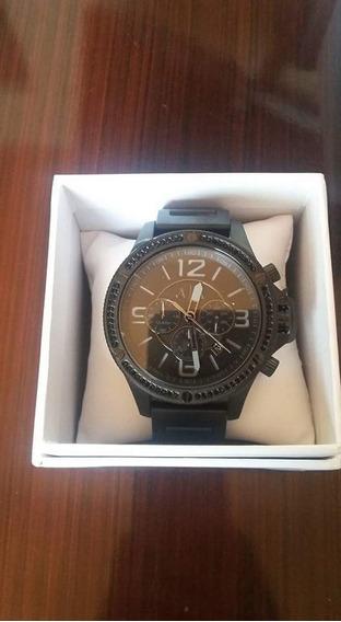 Lote De 8 Relojes Originales Armani, Mk, Fossil Y Nautica