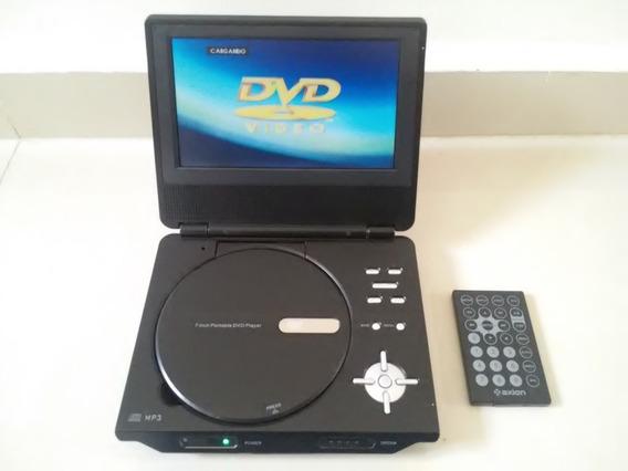 Dvd Portatil De 7 Pulgadas Con Control Para Reparar