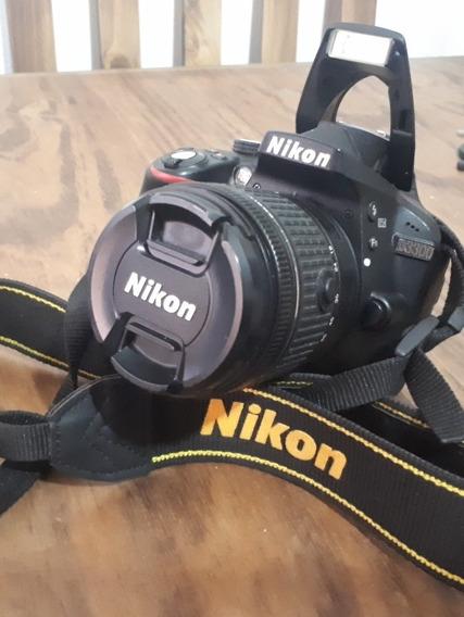 Cámara Réflex Nikon D3300 Lente 55,18