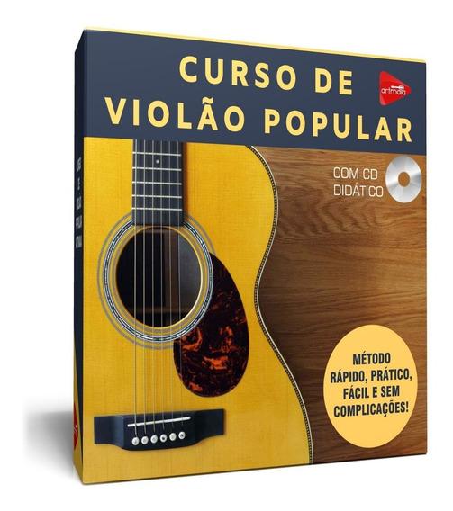 Curso De Violão Popular Com Certificado Grátis