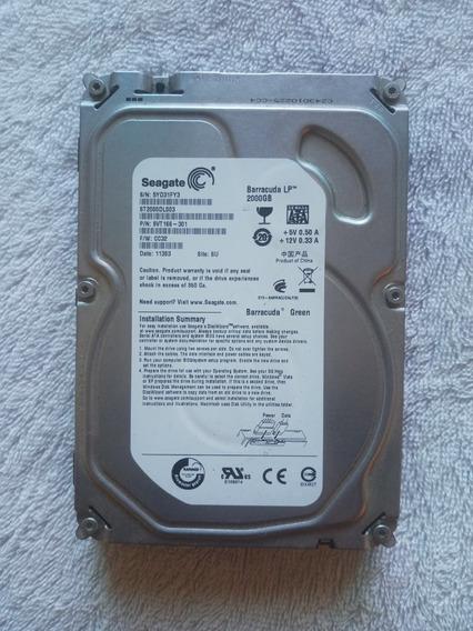 Hds 2tb Seagate - 360gb E 160gb Samsung - Lote