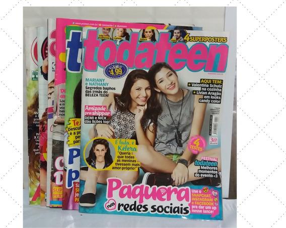 Kit Com 6 Revistas Teen-(jovem)-usadas,leia.