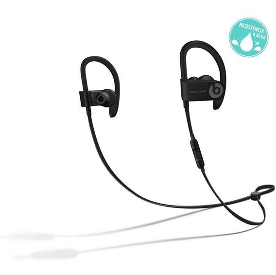 Fone De Ouvido Beats Powerbeats3 Wireless, In Ear, Preto