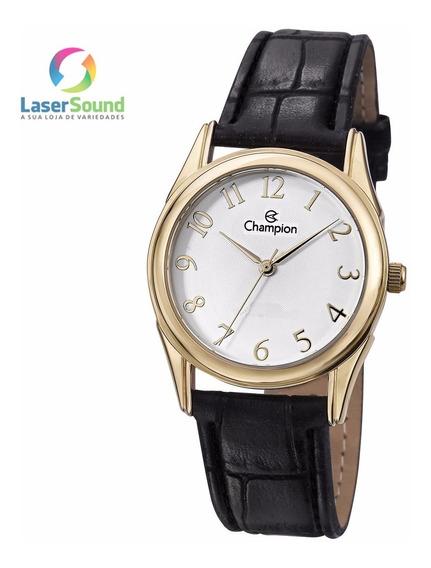 Relógio Champion Social Masculino Ch24660b, C/ Garantia E Nf