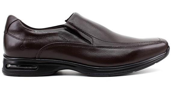 Sapato Democrata Couro Marrom Air Spot Original 448027