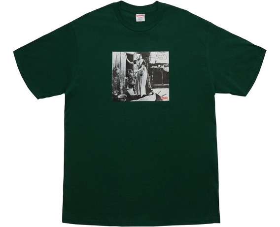 Hypedperu // Supreme Hiding From Indias Green Tee
