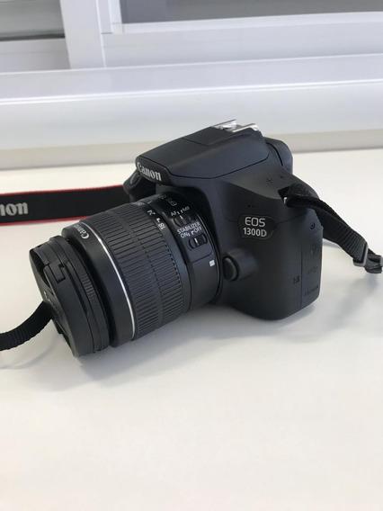 Canon Eos 1300d + Lente Canon Efs 18-55mm + Bolsa Canon