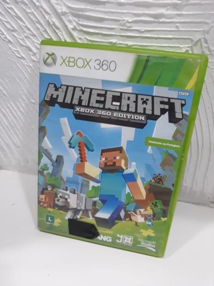 Jogo Minecraft Xbox 360 Português Mídia Física Original