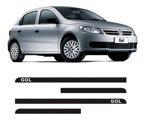 Imagen 1 de 3 de Moldura O Bagueta De Puerta Vw. Gol G5/g6/g7