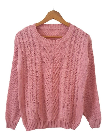 Sweater De Lana Pullover Mujer