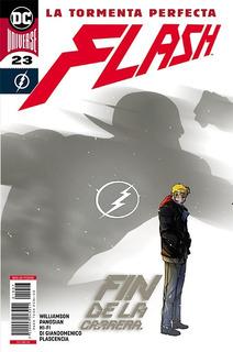 Comic Dc Universe Rebirth Flash # 23 Fin De La Carrera