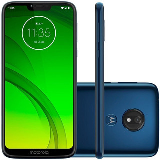 Moto G7 Power 64gb 4gb Ram Tela 6,2 Dual Chip Tv Digital, Camera 12mp Bateria 5000mah Android 9 Pie.