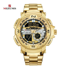 Relógio Mizums Luxo Total, Prova Dágua