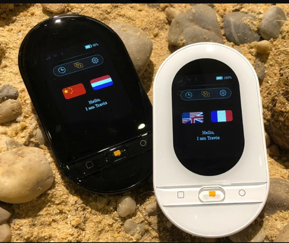 Tradutor Offline Travis 2.0 Touch Plus Branco Profissional