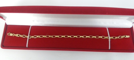 Pulseira Cartier Quadrado Top Ouro Maciço 18k 750 8 Gramas