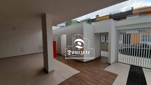 Cobertura Com 2 Dormitórios À Venda, 90 M² Por R$ 318.000,00 - Vila Pires - Santo André/sp - Co11341