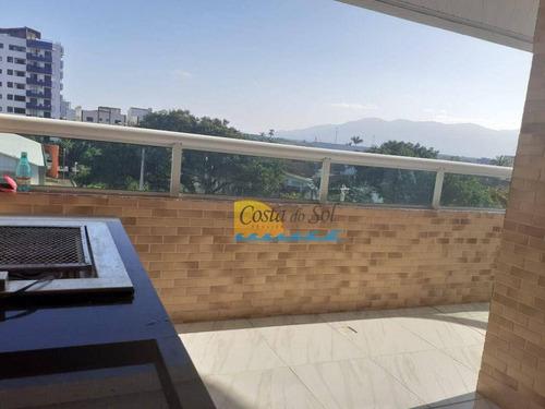 Imagem 1 de 3 de Apartamento Com 2 Dormitórios À Venda, 84 M² Por R$ 350.000,00 - Caiçara - Praia Grande/sp - Ap14973