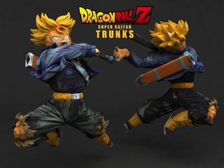 Trunks Con Espada - Dragon Ball Z - Stl - Impresión 3d