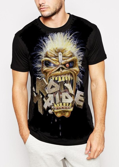 Blusa Babylook Banda Iron Maiden