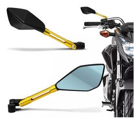 Retrovisor Moto Esport Tipo Rizoma Tomok2 Alumínio Cb300 Mt