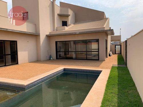 Casa Com 4 Dormitórios À Venda, 350 M² Por R$ 2.400.000,00 - Jardim Olhos D'agua - Ribeirão Preto/sp - Ca2979