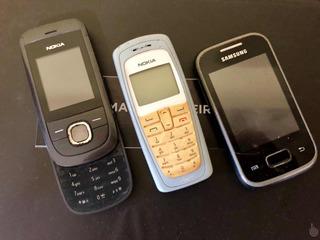 Celular Nokia E Sansung- Relíquias