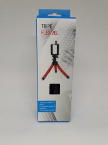 Mini Tripé Universal Flexível Para Câmeras E Celulares