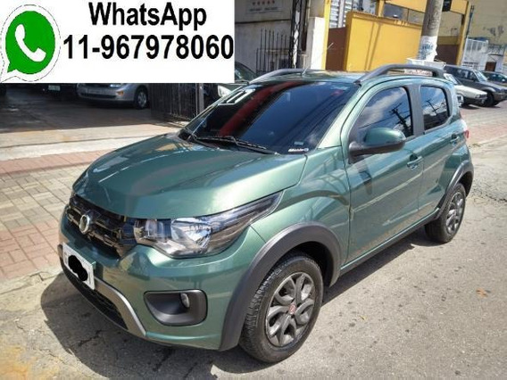 Mobi Way On 1.0 Completo + Top De Linha 2017 Km 9.500