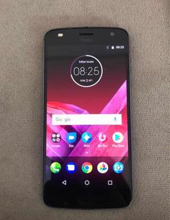 Celular Moto Z2 Play Prata