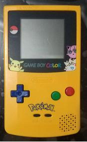 Gameboy Color Pokémon Amarelo Pikachu Edition!