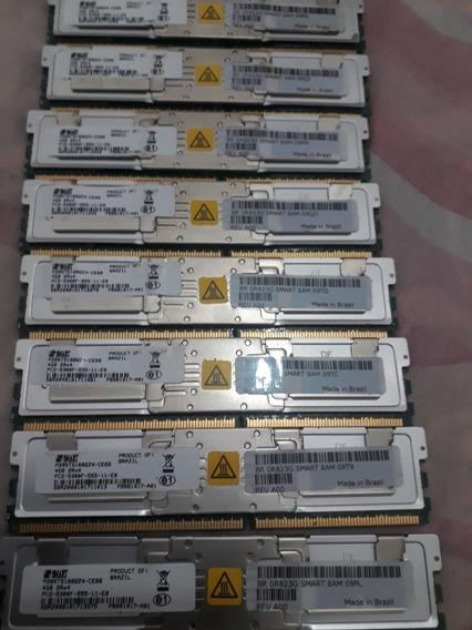 Kit 32gb Memória Pc2-5300f Servidor Dell 1950 2950 8 X 4gb
