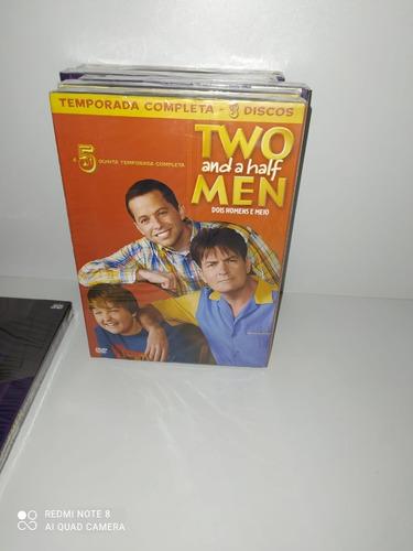 Imagem 1 de 5 de Dvd Dois Homens E Meio 5ª Temporada Completa