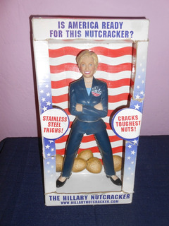 Hillary Clinton Quebrador De Nueces Quebranueces Coleccion